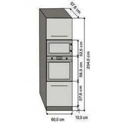 Modulo 60 alto columna