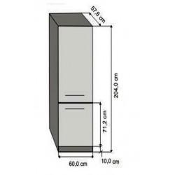 Modulo alto 60 frigorifico