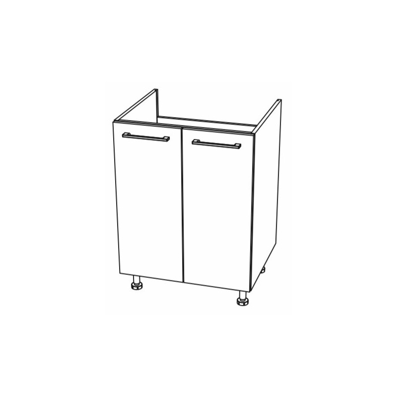 Modulo 2 puertas fregadero
