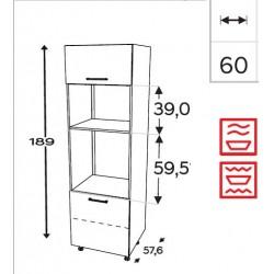 Modulo columna horno