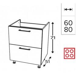 Modulo 1 puerta fregadero